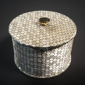 Pudełko na biżuterię ręcznie robione, personalizowane