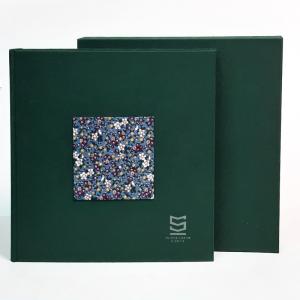 Album na zdjęcia 30x30 cm Kwieciste Okno z kieszenią